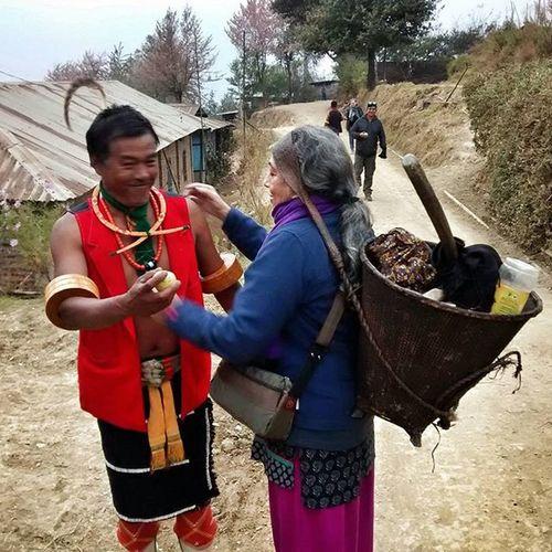 Hermie goes to Nagaland IndiaTrail Nagaland Phüsachodü NoddyRipOff