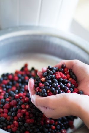 Summertime Antioxidant Berry Fruit Blackberry - Fruit Blueberry Bowl Finger Focus On Foreground Food Food And Drink Freshness Fruit Hand Healthy Eating Holding Human Body Part Human Hand Indoors  Lifestyles One Person Real People Ripe Wellbeing