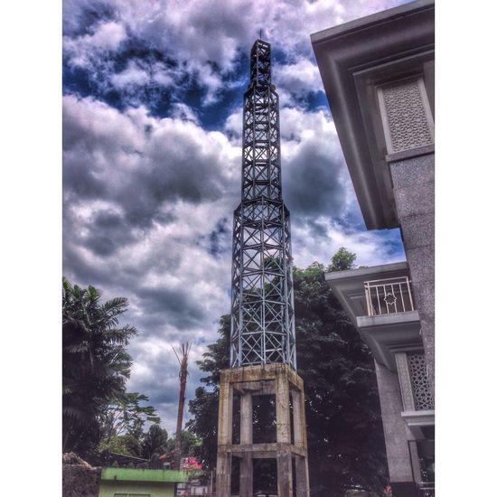 @mesjidalumniipb Hdr Edit Mosque Tower Building Ipb