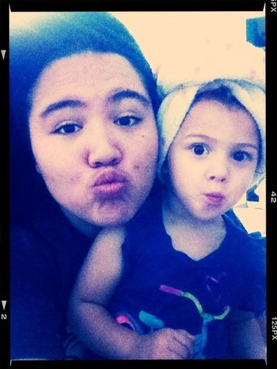 Me and my Lil Brat<3