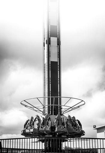 Detour #blackandwhite #carnival #dailyphoto #dailystory #ride EyeemPhilippines Amusement Park Amusement Park Ride Arts Culture And Entertainment Lensculture Outdoors Ride Visual Feast