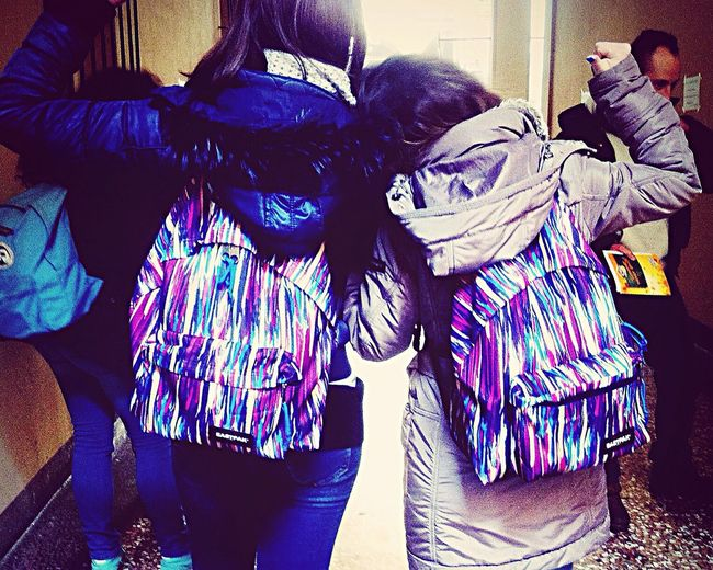 Universitytime Friends Happiness ♡ Eastpak Multicolors  ✌️??