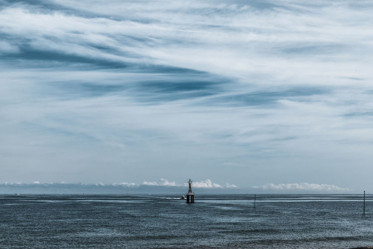 Sea Water Cloud - Sky Sky Horizon Over Water Beauty In Nature Horizon Scenics - Nature Nautical Vessel Day Nature Waterfront Transportation Tranquil Scene Tranquility Outdoors Mode Of Transportation No People Non-urban Scene