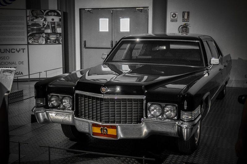 Limusina Cadillac de Franco