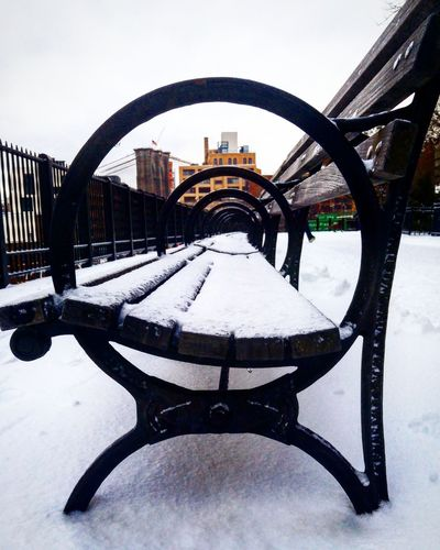 Winter Snow Outdoors Smartphonephotography Downtown Brooklyn