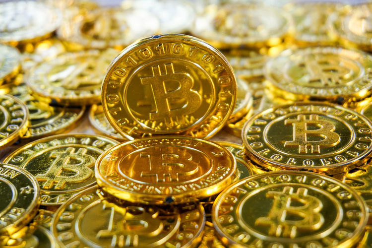 Abundance Backgrounds Bitcoin Business Clock Close-up Coin Currency Finance Gold Gold Colored Indoors  Large Group Of Objects Luxury Metal No People Number Shiny Silver Colored Still Life Studio Shot Wealth