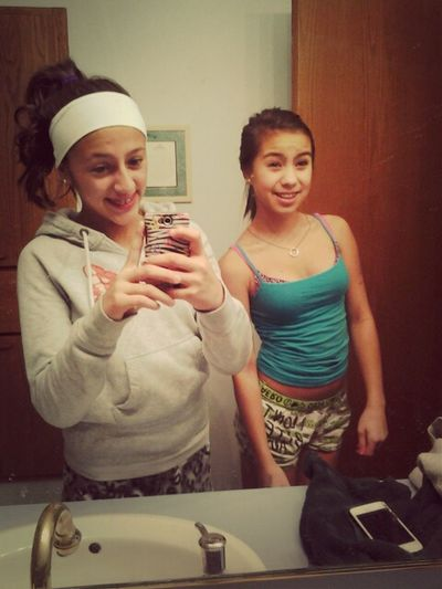 With The Bff Brittney (: