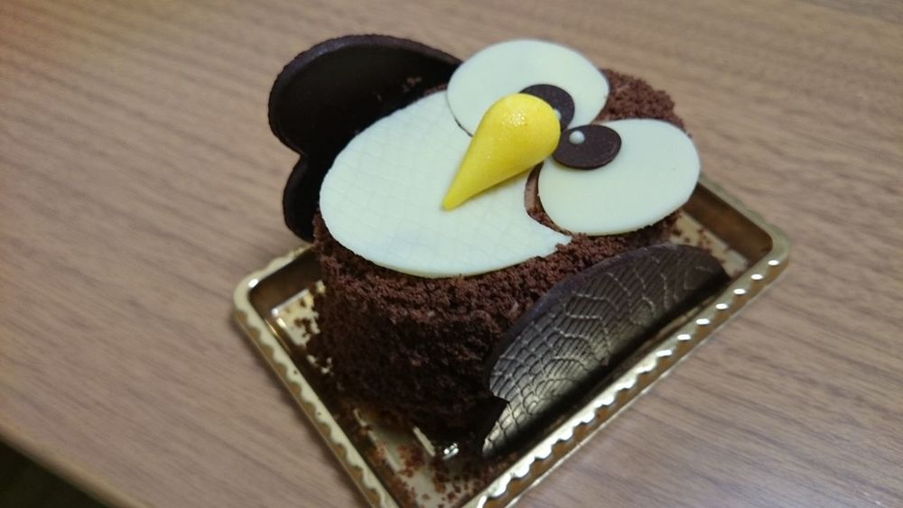 This is owl cake.