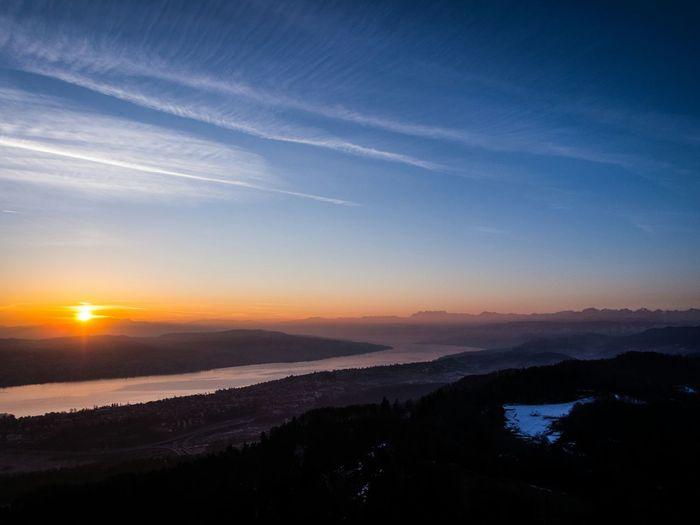 Landscape Enjoying The Sun Sunrise Morning Sky Morning Morning Light Switzerland Zurich, Switzerland Zürich Schweiz My Best Photo 2015