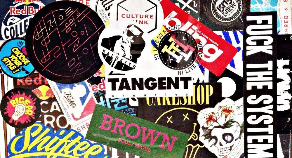 Mylaptop Stickers Hi-Lite Records Paloalto