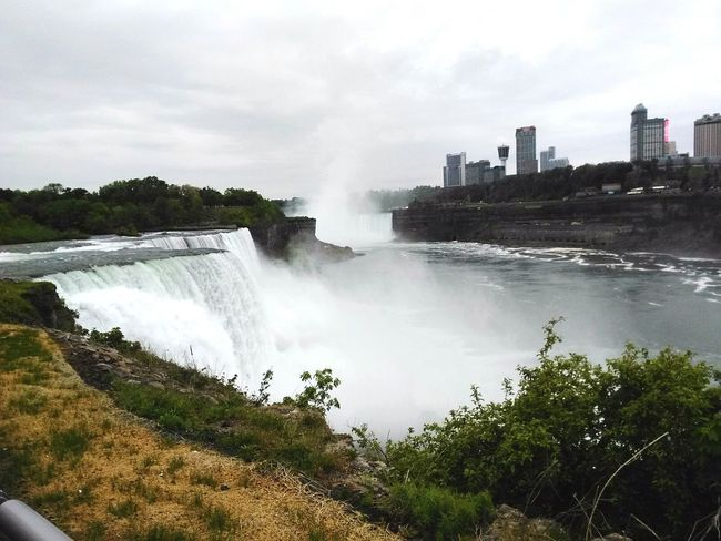 Water Fog Tree Waterfall New York Canada NiagaraFallsCanada Niagara Falls Canada Niagara Falls NY Niagara USA Landscape wa