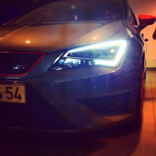 The real thing. Cupra. Seat Seatleon Cupra Leoncupra Real Here Haifa Seathaifa Seatisrael Israel ClubSeat Car Cars LED Ig_car Ig_israel Israelinstagram Instaisrael Insta_Israel Ig_europe Ig_eurasia Ig_today Ig_daily Ig_exquisite