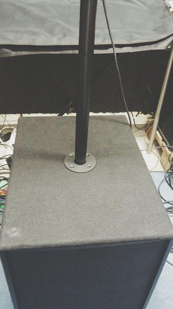 Soundcheck mit Wums....