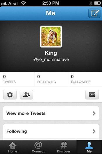 Follow me on twitter @yo_mommafave