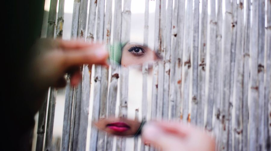 Selective Focus Human Eye People Palestine Muslim Girl Culture Portraits Middle East Teenage Girls Expression Personality  Eye EyeEmNewHere Mirror Reflection Outdoors Pretty Girl Girl #me #eyes #lips Lips Portraiture The Portraitist - 2017 EyeEm Awards Out Of The Box Fresh on Market 2017 Rethink Things