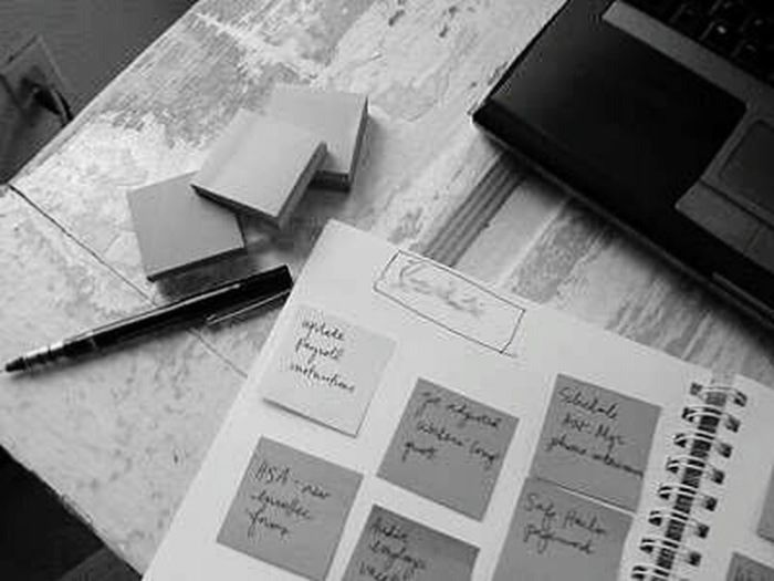 Everything In Its Place The To-Do lists which many may be making either on the paper or in their minds,I do 🇧🇴🇹🇭 😜 A Bird's Eye View Organize Organised Shelf Clarity Black & White Monochrome Black And White Photography Monochrome_life B&w Photography Black And White Collection  Monochrome _ Collection Todolist Planner Sticky Notes Pen Study Time Stickynotes Planneraddict Notes Neat & Tidy Neat No Mess Student Life