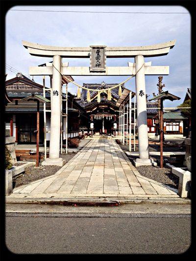 豊国神社 鳥居 The Purist (no Edit, No Filter) Taking Photos Shrine TORII