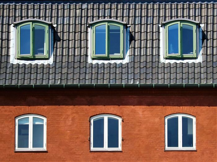 Windows and skylights of building