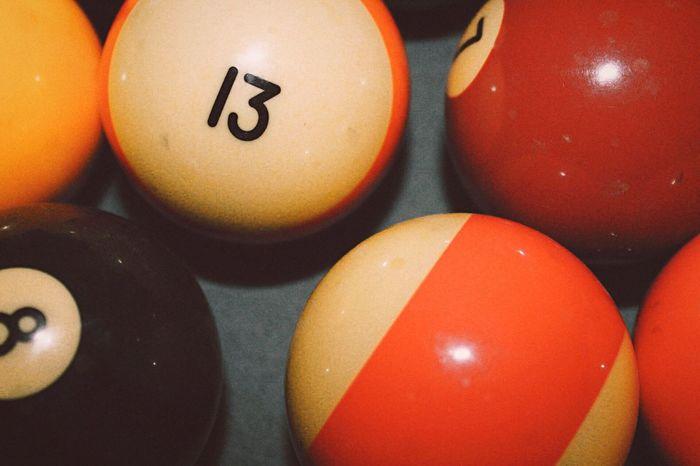 Close-up Multi Colored Ball