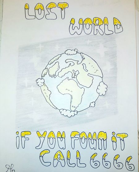 Drawing - Art Product Earth EARTH PROJECT Drawing ✏ No People Affiche Consept