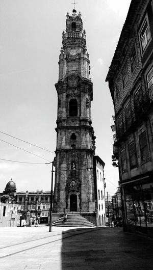 Architecture Travel Destinations Religion Place Of Worship Building Exterior Built Structure Sky Outdoors Tourism Business Finance And Industry Vacations No People Day Cultures Oporto Oporto, Portugal Porto, Portugal Portugal