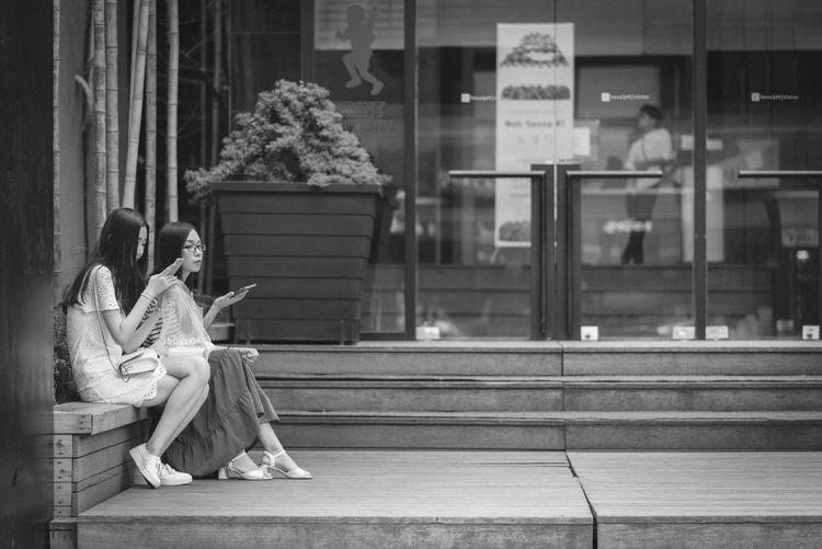 B&w Street Photography Blackandwhite City Life Lifestyles Monochrome Nikon D750