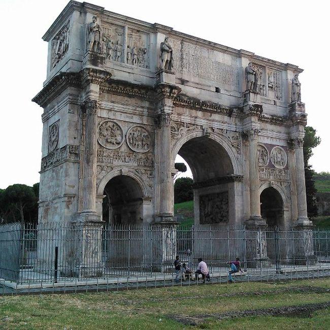 Roma Italy Italian Constantinusmaximo Maximo Constantino Tourism
