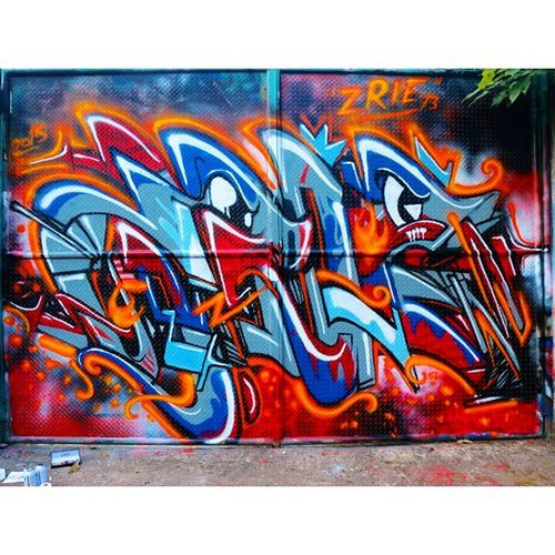 Full wall Before saum 2015 Graffiti Streetart Wildstyle Spraypaint Cans ArtWork Art Swag Font Type Bombing Wall Project Zrie73 Fullwall