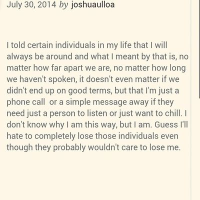 I'll be around Joshuaulloapoetry Creativewriting tag those individuals in your life Truewords
