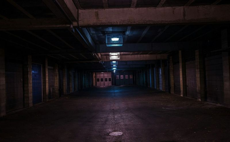 Bath Uk Garage Falsecolour Long Exposure Underground Purple Blue Hazmus Professional