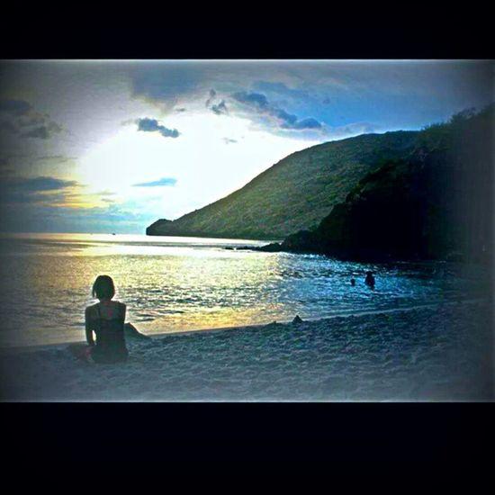 ? Sunset Beach Philippines Anawangin memories travel happiness