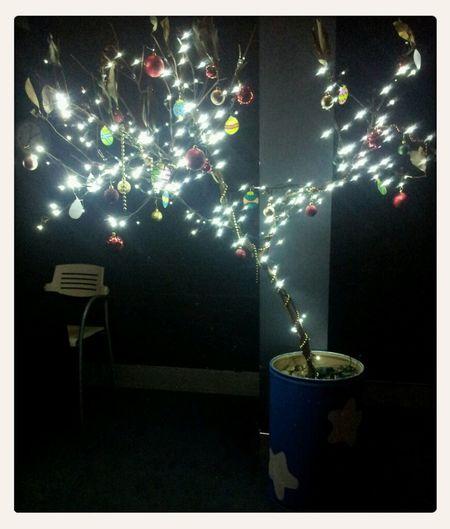Voltage has a Christmas tree! :p