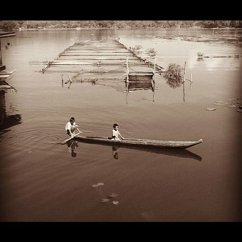 Bangka. Lake Sebu, South Cotabato. 7falls Koronadalcity Lake Philippines hefe