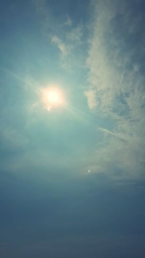 lookup the sunshine~☆ Lookup Sunshine Sky Sun