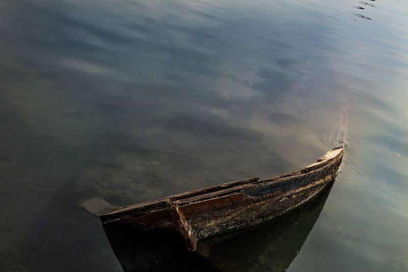 Loch  Boat Sandal Batık Sunken Istanbuldayasam Istanbullovers First Eyeem Photo