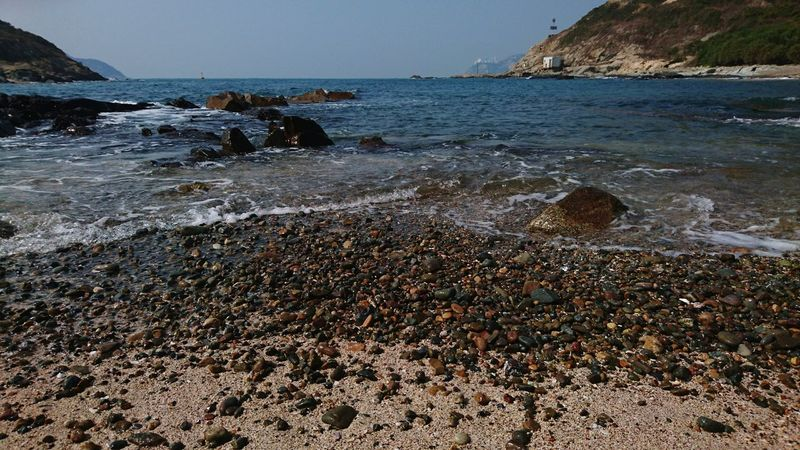 Sea Beach Nature Outdoors Beauty In Nature Horizon Over Water Water Day Wave No People Scenics Sky Cape D'aguilar Hong Kong Beauty In Nature Nature