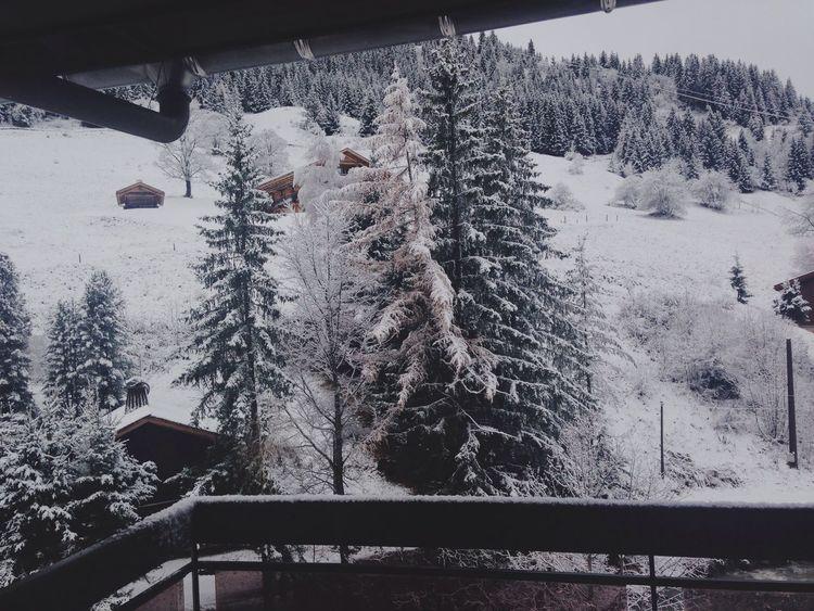 Hello World Good Morning Snow Enjoying Life Relaxing Peaceful LaClusaz EyeEm Nature Lover Check This Out Morning Landscape Mountains White Hautesavoie Essai Hôtellerie Restauration