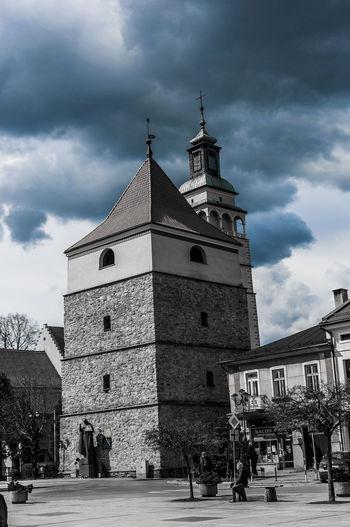 Blue Poland Pszczyna Sky Tower