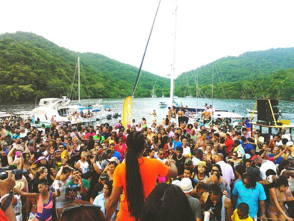 Soundtrack Of Our Lives Raff Up! This is a Charity event hosted by Raphael Figueroa on a barge down the islands just outside the north western area of Trinidad. Proceeds go towards his charity 'The Tall Man Foundation' for the development of underprivileged children in the field of music, cinematography and photography, dance, etc. Big up to Raff Up! Carnival Crowds And Details