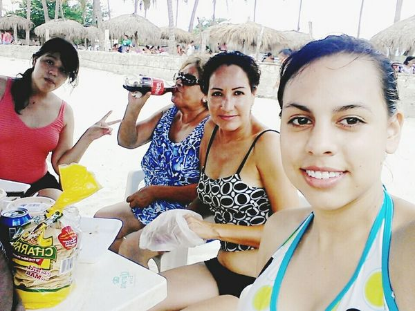 Playa Sol Arena FAMILIA♥ Coca-cola Relaxing Wonderful Beach Sun Goodday
