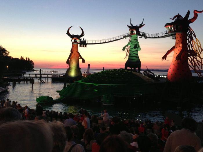 Mozarts Zauberflöte auf der Seebühne