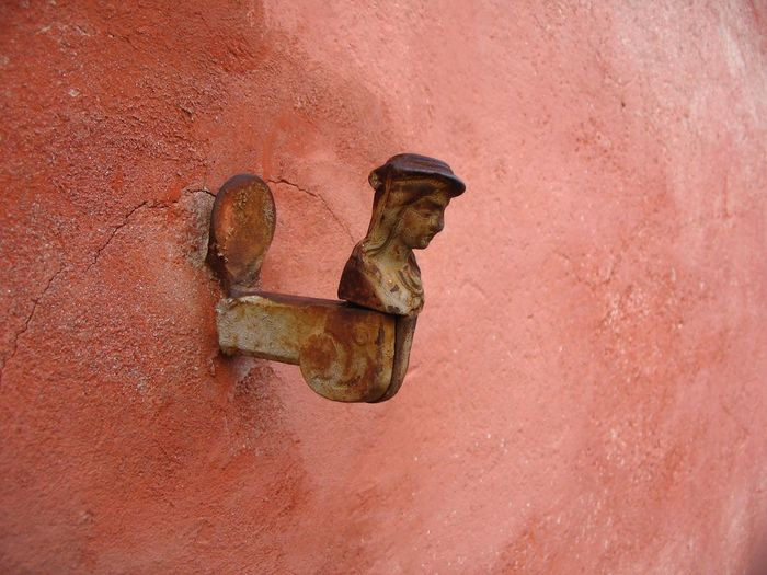 shutter holder Architecture Close-up Colour Day Fresco Wall No People Outdoors Rusty Shutter Holders Shutter Keepster Weathered