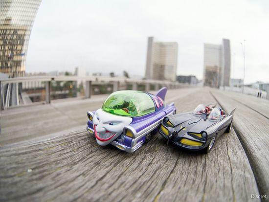 Batman ! Batman ! Batman Joker Batmobile
