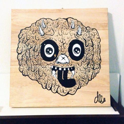 Graffiti Art Monster Dee