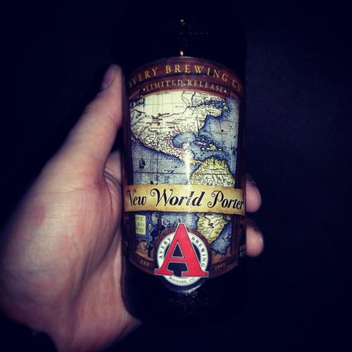 Drink of the day. Newworldporter Beersnob Beer