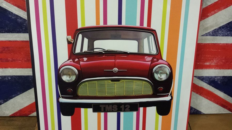 British Brits Flea Markets Fleamarket Market Stall Mini Mini Car Mini Cooper Mini Cooper S Painting Union Jack Unionjack