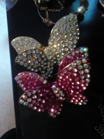 butterfly rings just sitting looking pretty