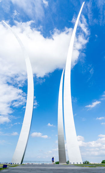 Air Force Memorial America Arlington  Day International Landmark Memorial Monument Outdoors Sky Statue The Architect - 2016 EyeEm Awards The Great Outdoors - 2016 EyeEm Awards The Great Outdoors With Adobe The Street Photographer - 2016 EyeEm Awards War Washington, D. C.