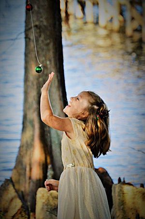Girl Neice One Person Outdoors Day Focus On Foreground Tree Nature Childhood People Young Adult