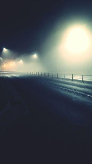 Samsung Galaxy S6 Road 밤길 South Korea 강화도 Night 밤 Kanghwado Black Smog